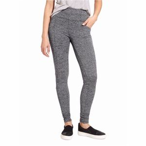 Athleta Metro High Waisted Leggings Herringbone